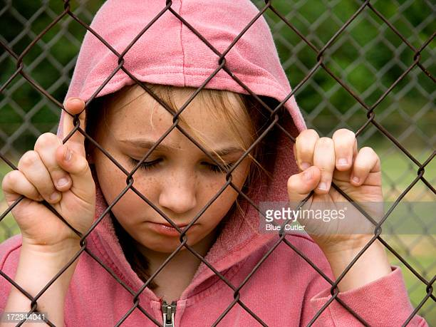 Girl behind the fence #2