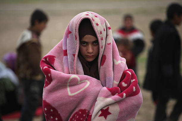 Civilians Flee War As ISIL Frontline Shifts Following Kurdish Sinjar Offensive