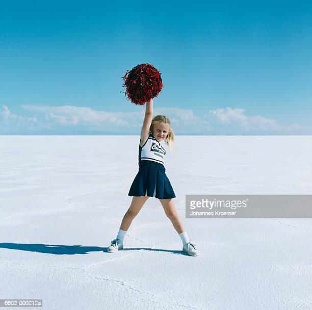 Girl Cheerleading