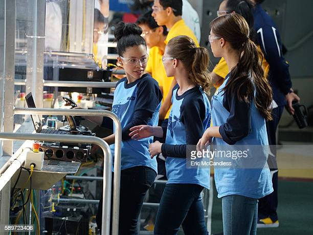 THE FOSTERS Girl Code Lena grows increasingly concerned over Mariana's competitive streak at the First Robotics Regionals on an allnew episode of The...