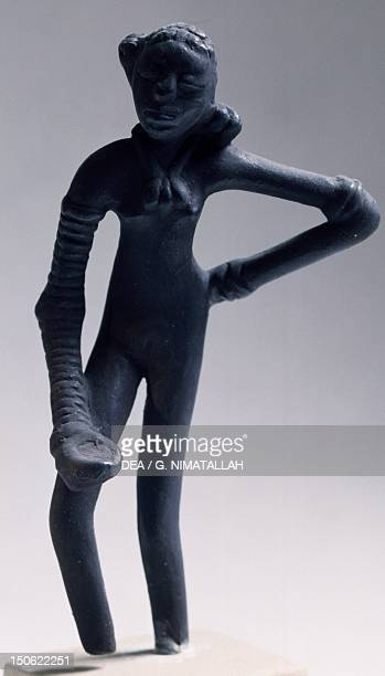 Girl dancing bronze statue copy from Mohenjodaro Pakistan Indus Valley Civilisation mid 3rd millennium BC