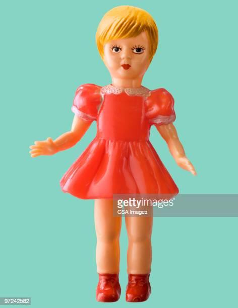 girl doll in dress - 人形 ストックフォトと画像