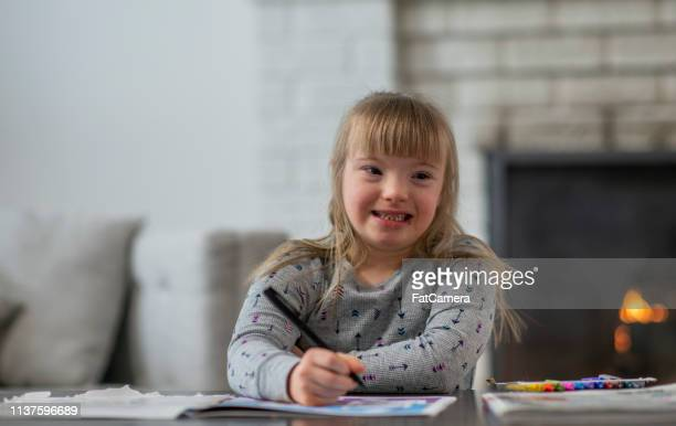 Girl Drawing Pictures