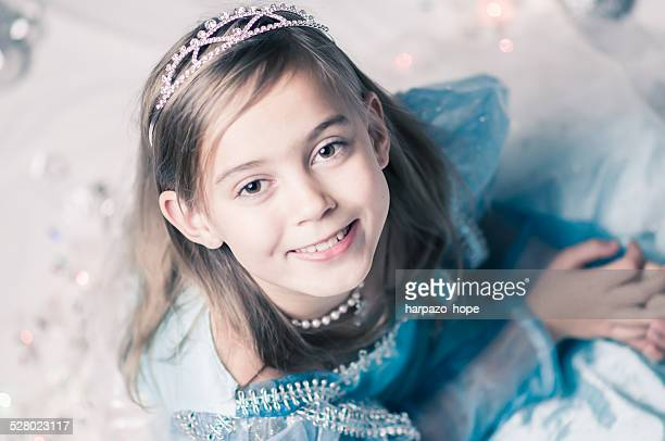 girl dressed as a princess. - princess stock pictures, royalty-free photos & images