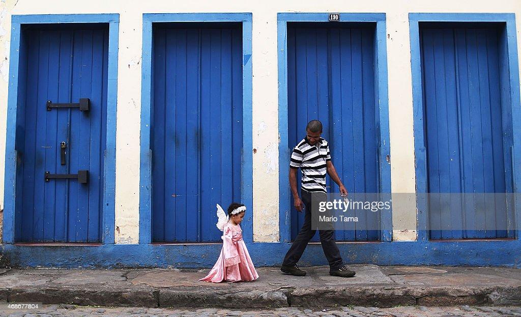 Ouro Preto Hosts Traditional Semana Santa Rituals : News Photo