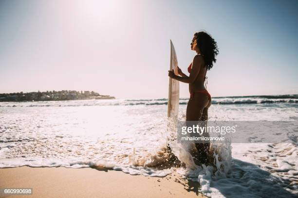 girl feeling sunrays - elysium stock pictures, royalty-free photos & images