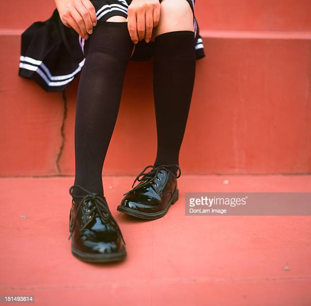girl feet - zhanjiang stock photos and pictures