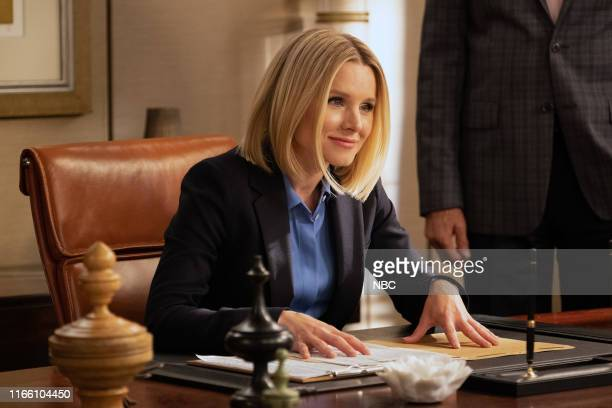 """Girl From Arizona"""" Episode 401/402 -- Pictured: Kristen Bell as Eleanor --"""