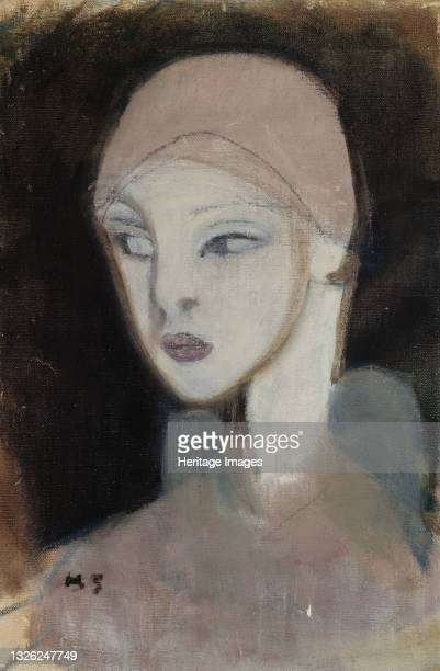 Girl from the Islands, 1929. Found in the collection of Ateneum, Helsinki. Artist Schjerfbeck, Helene .