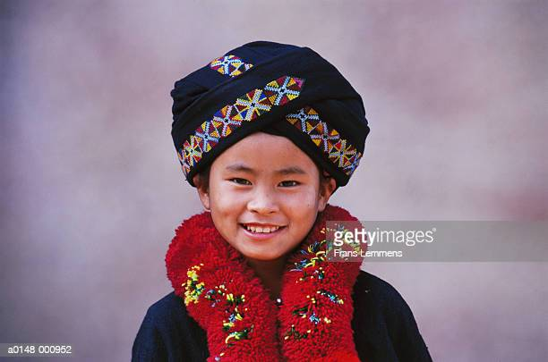 Girl from Yao Hill Tribe