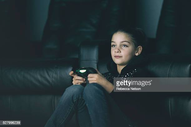 girl gamer - rebecca nelson stock pictures, royalty-free photos & images