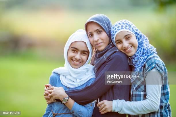 gerações de menina - imigrante - fotografias e filmes do acervo