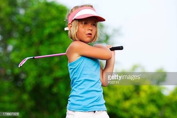 Girl & Golf