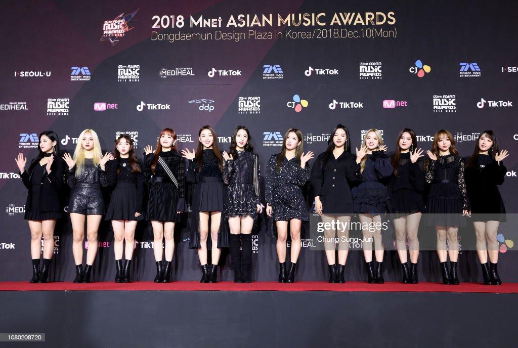 2018 Mnet Asian Music Awards PREMIERE in KOREA : News Photo
