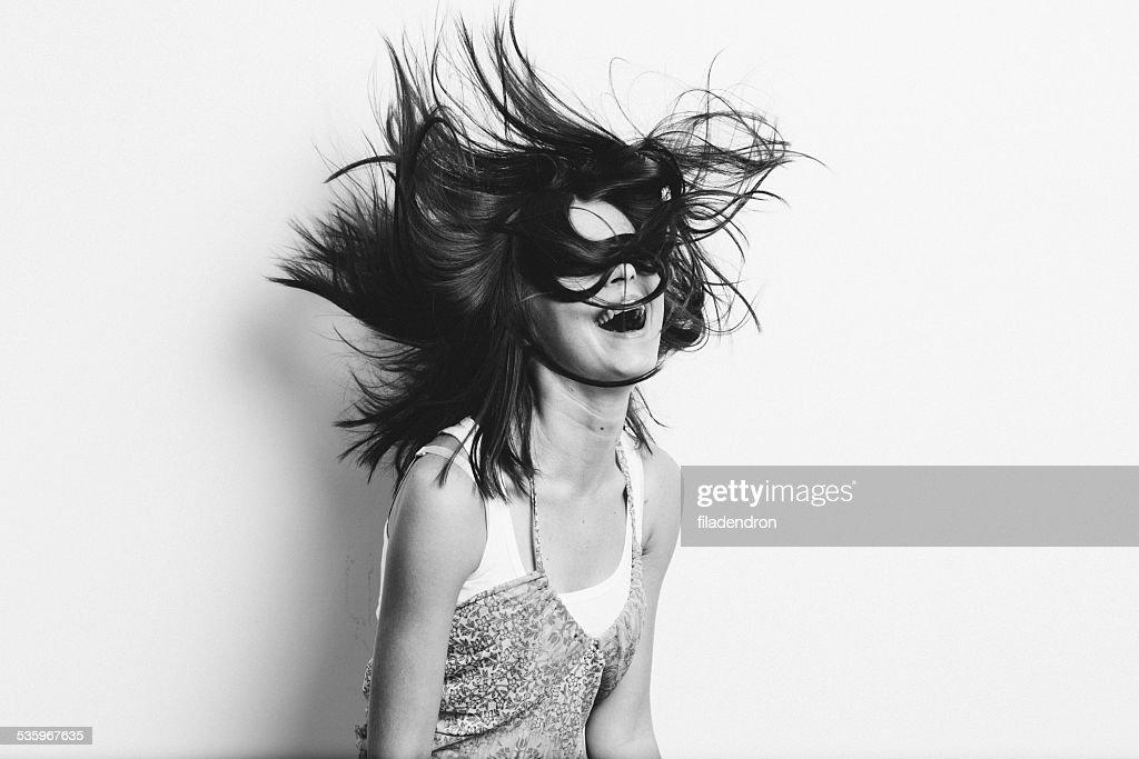 girl having fun : Stock Photo