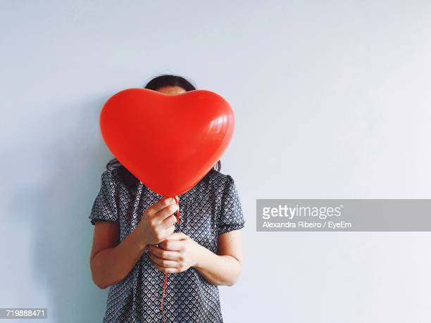 Girl Holding Balloon