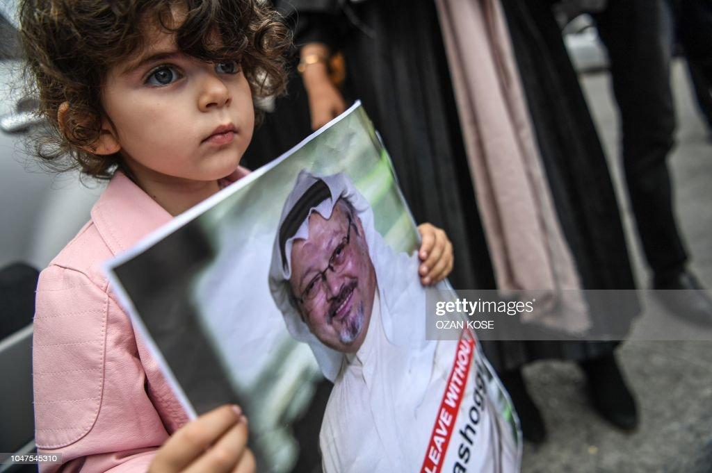 TURKEY-SAUDI-POLITICS-DIPLOMACY-DEMO : News Photo