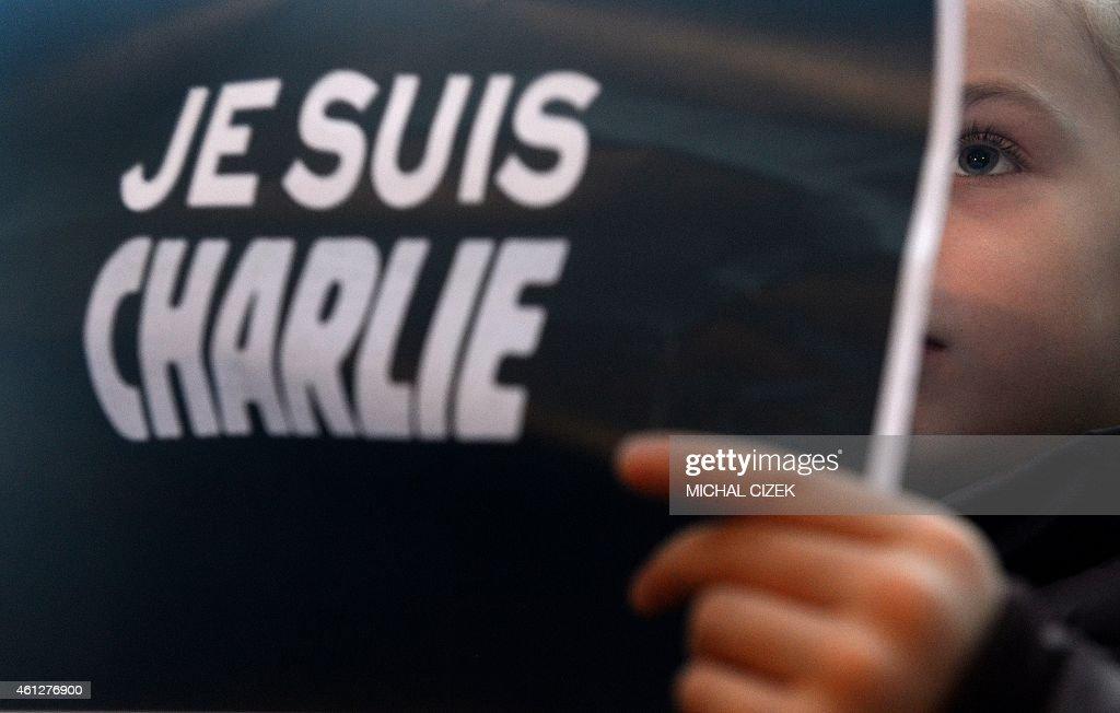 CZECH-FRANCE-ATTACKS-CHARLIE-HEBDO : News Photo