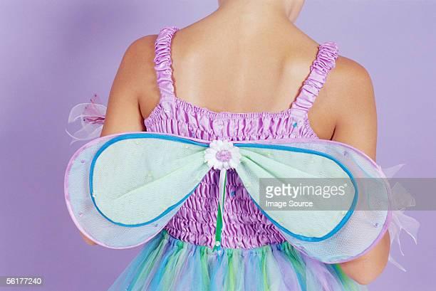 Girl in a fairy princess costume