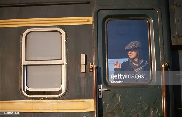Girl in A Slow Train