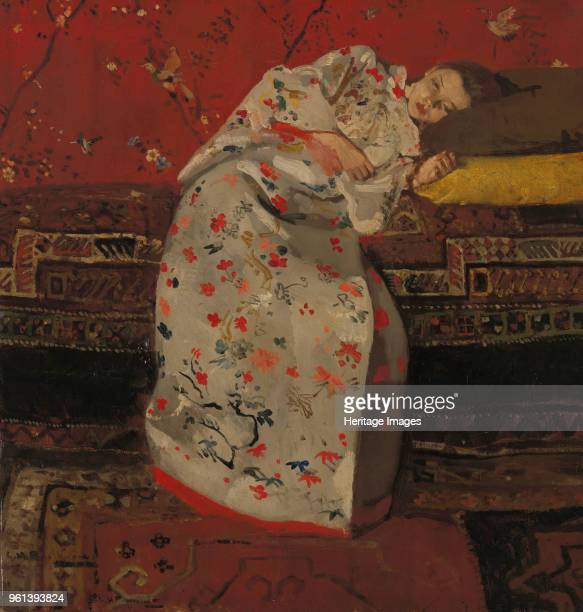 Girl in a White Kimono, ca 1894. Found in the Collection of Rijksmuseum Twenthe, Enschede.