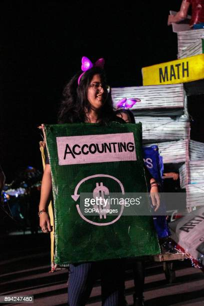 OVAL QUEZON NCR PHILIPPINES A girl in an accounting book costume to showcase books as ladder for a children progress toward success The most awaited...
