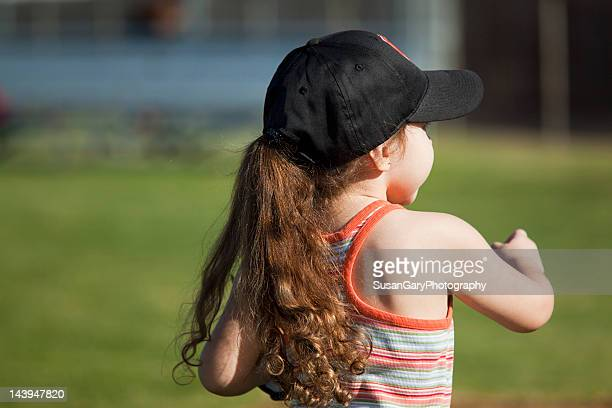 Girl in black cap
