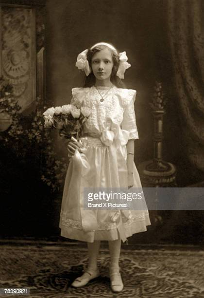 girl in fancy dress - victorian style stock pictures, royalty-free photos & images