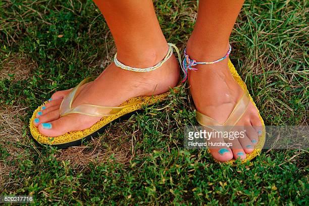 Girl in Flip-Flops