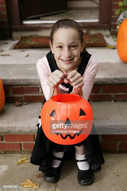 girl in halloween costume - poodle skirt stock photos and pictures