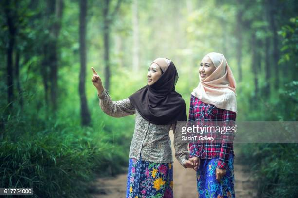 girl in hijab - malaysia beautiful girl stock photos and pictures