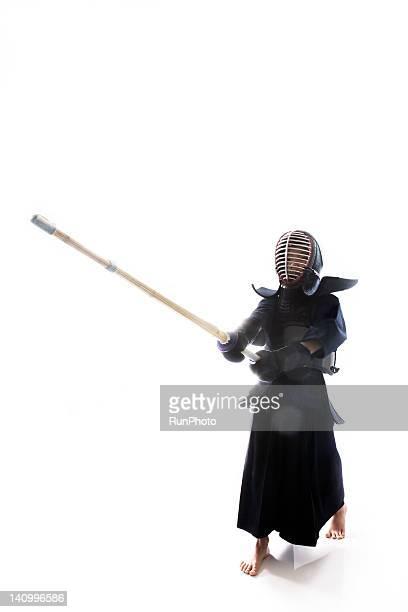 girl in Kendo uniform
