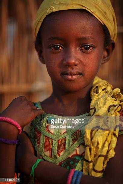 Girl in Senegal