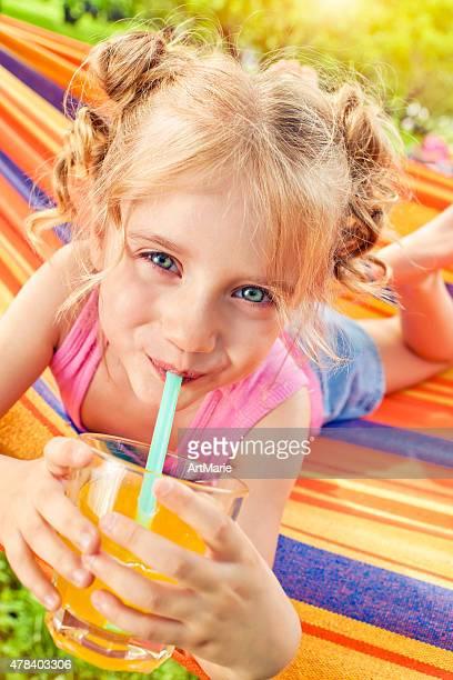 Mädchen im Sommer