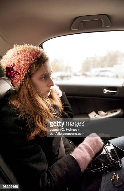 girl in the limo - joseph o. holmes stock pictures, royalty-free photos & images