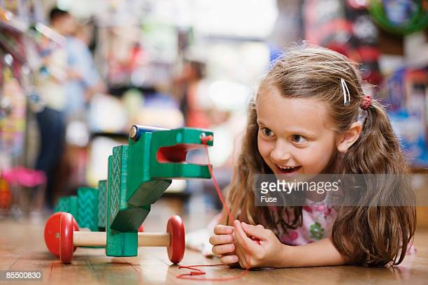 Girl in Toy Store