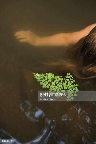 girl in water - thick girls stock photos and pictures