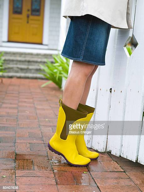 Girl In Yellow Boots