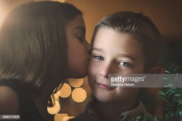 Twin Sisters Kiss Stock Photos And Pictures  Getty Images-7362