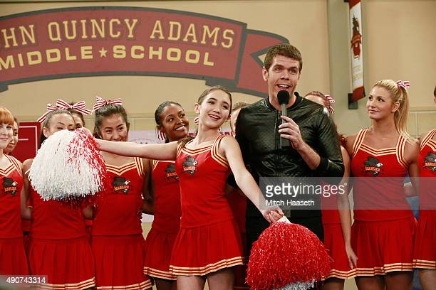 WORLD 'Girl Meets Rah Rah' It's time for the annual cheerleading tryouts and Riley is determined to finally make the squad This episode of 'Girl...