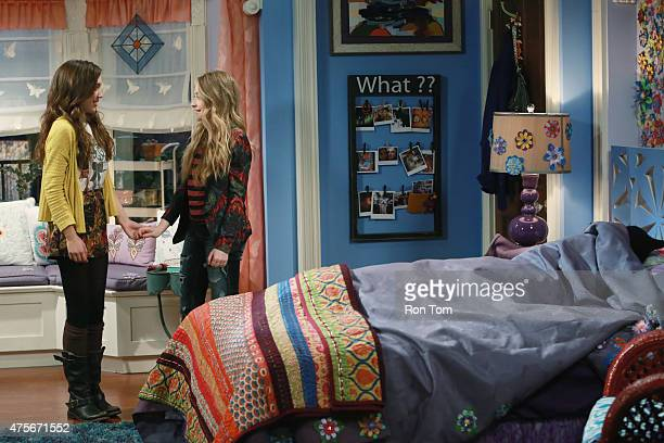 WORLD 'Girl Meets the TellTaleTot' Riley tells a lie so she and Maya can attend a party and must deal with the guilt of sneaking around her parents...