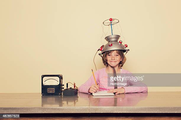 girl mind - scientific experiment stock pictures, royalty-free photos & images