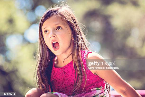 girl on a playground - fairfax county virginia stock photos and pictures