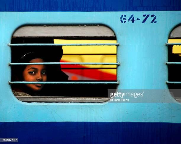 Girl On An Indian Train
