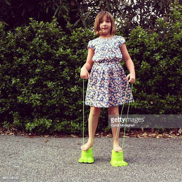 Girl on Stilts
