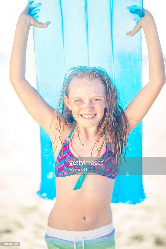 Redhead ginger teen bikini
