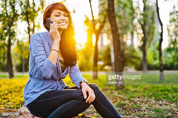 girl on the phone - martin dm stock pictures, royalty-free photos & images