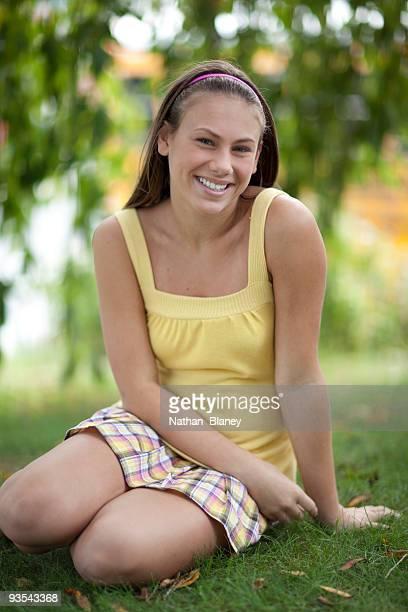 Girl outdoors