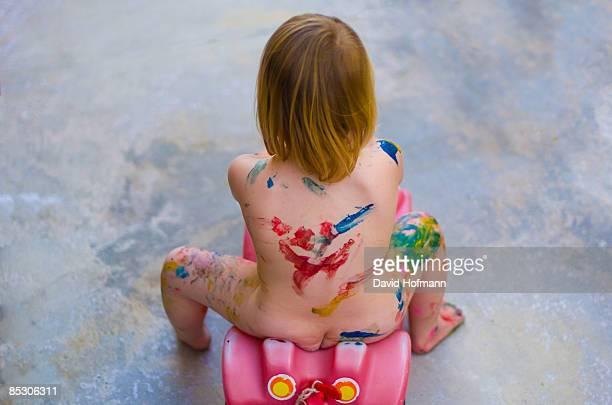 girl playing - nakna tjejer bildbanksfoton och bilder