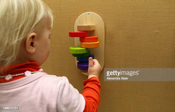 A girl plays at a day care center for children aged 12 months to six years on December 22 2011 in Munich Germany German authorities claim the country...